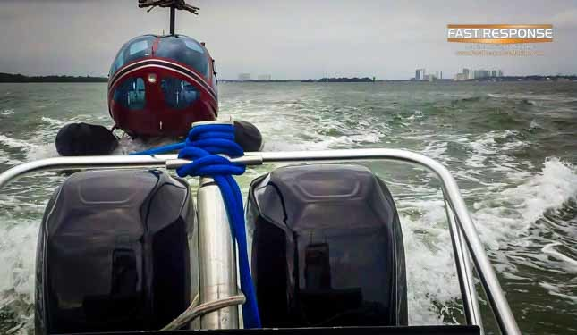 fast response marine towing helicopter
