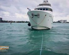 towing megayacht