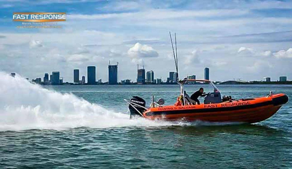 fast response marine speed testing