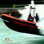 Fast Response Marine Towing and Salvage racing to rescue a boat